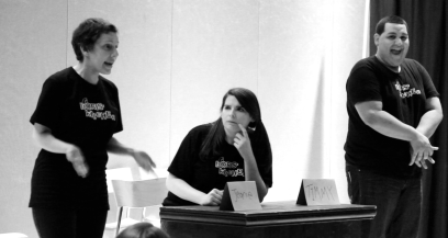 Ayelet, Michelle, and Dennis perform in the OSS 2013.